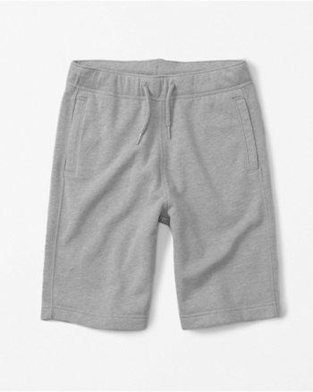 pull-on fleece shorts