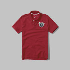 girls logo polo