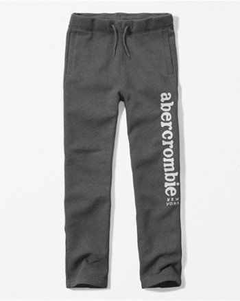 kids logo sweatpants