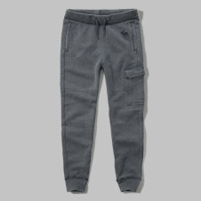 girls burnout cargo joggers