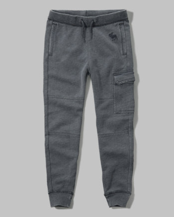 kids burnout cargo joggers