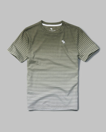 kids striped dye effect tee