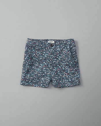 kids patterned midi shorts