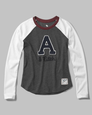 kids graphic baseball tee