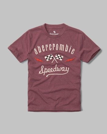 kids racing graphic tee