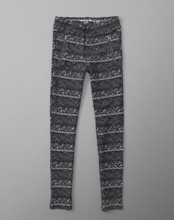 kids zip-pocket leggings