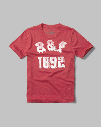 kids varsity graphic tee