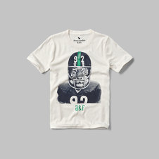 girls varsity graphic tee