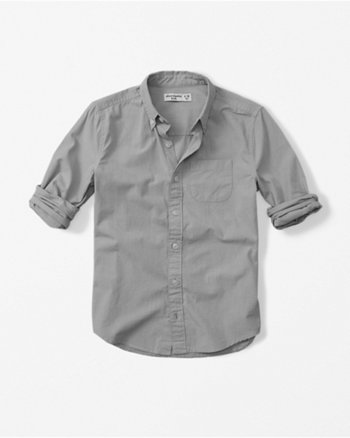 kids long sleeve poplin shirt
