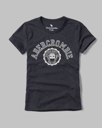 kids graphic ringer tee