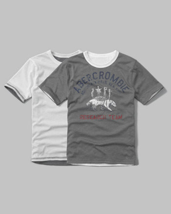 kids reversible graphic tee