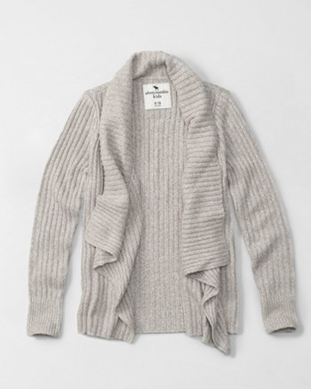 kids non-closure cardigan
