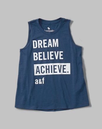 kids active graphic tank
