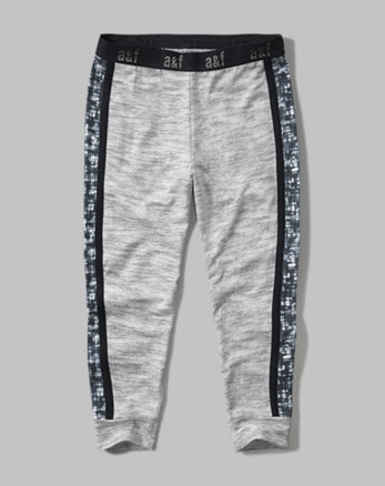 kids cropped joggers