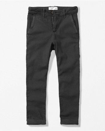 kids slouchy chino pants