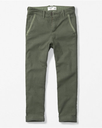 kids slouchy chino pants