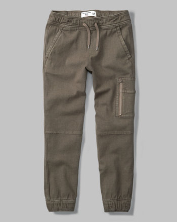 kids military joggers