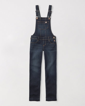 kids skinny straight overalls