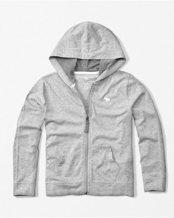 kids icon zip-up hoodie