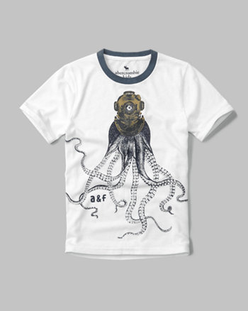 kids nautical graphic tee