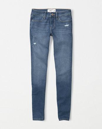 kids ripped super skinny jeans