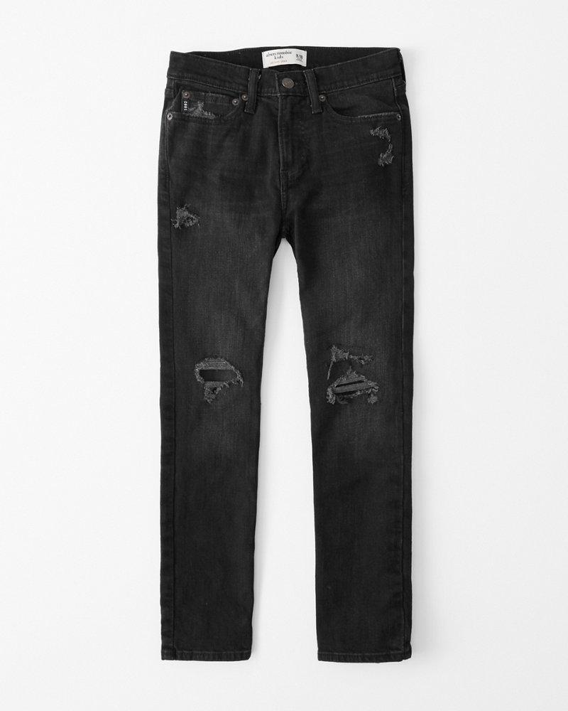 boys ripped skinny jeans | boys bottoms | Abercrombie.com