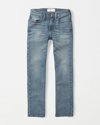 kids straight jeans