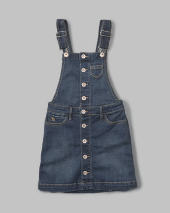 kids a-line denim skirtall
