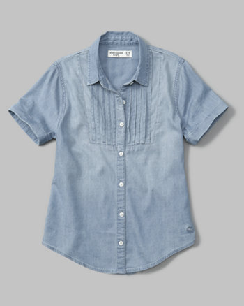 kids button-up tunic