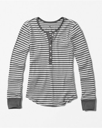 kids icon ribbed henley
