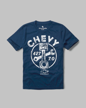 kids chevy graphic tee