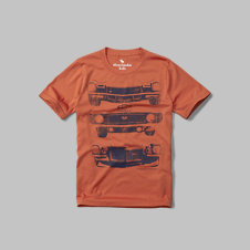 girls chevy graphic tee