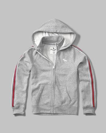 kids varsity twofer hoodie