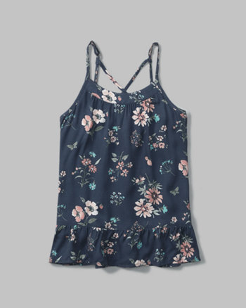 kids strappy cami