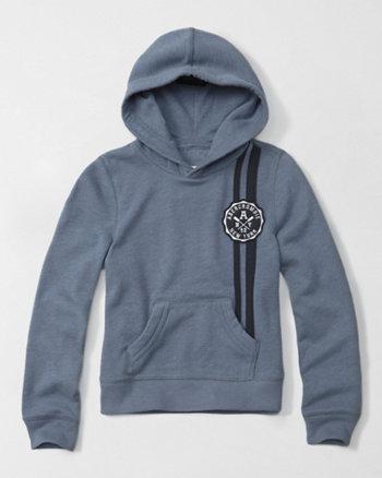 kids varsity logo pullover hoodie