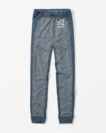 kids zip-pocket joggers
