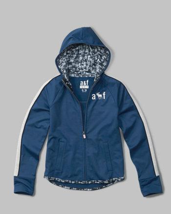 kids active zip-up hoodie