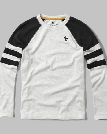 kids varsity logo long-sleeve tee