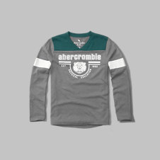 girls varsity graphic long-sleeve tee