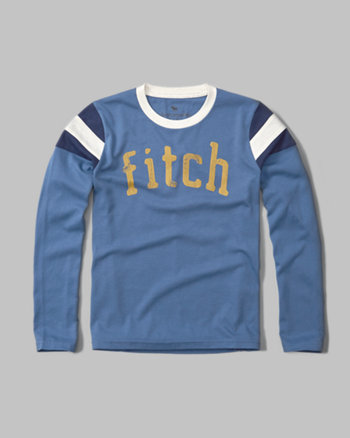 kids varsity graphic long-sleeve tee