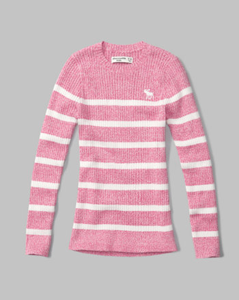 kids ribbed pullover sweater