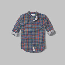 girls long sleeve plaid duofold shirt