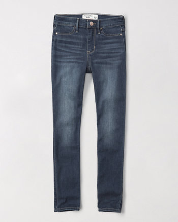 kids high rise jean leggings