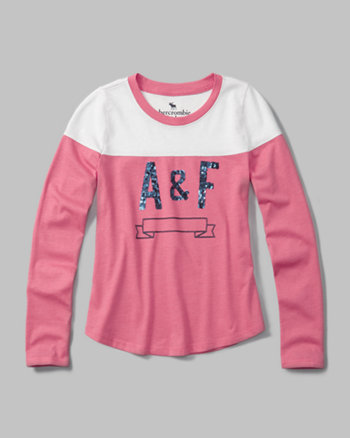 kids vintage graphic long-sleeve tee