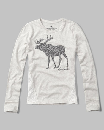 kids graphic long-sleeve tee